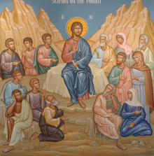 icon of the sermon on the mount