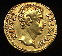 Coin of Augustus PAS 200 px sh