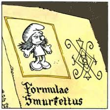 Smurfette was created by Garamel to punish the smurfs, but the original recipe is too misogynist to publish here...